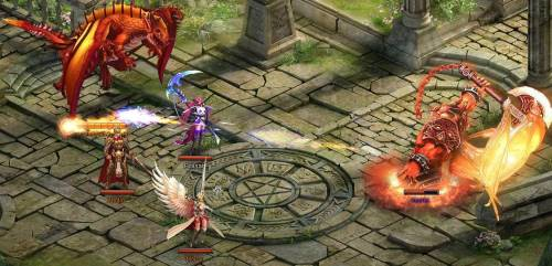 knight's fable 2016 browser mmorpg