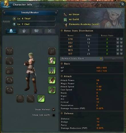 Ragnarok 2 MMORPG character