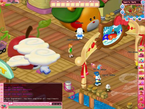 Hello Kitty MMORPG